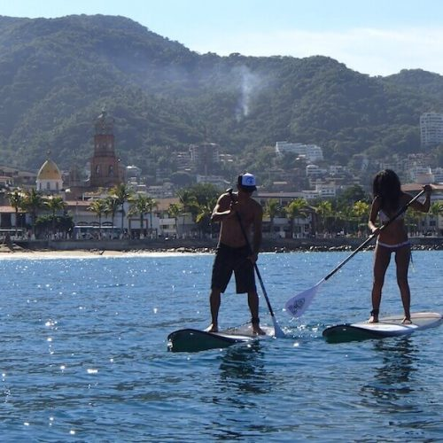 Paddle Board Lessons in Puerto Vallarta